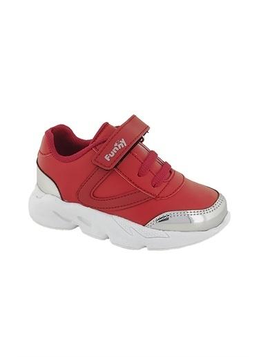 Necix's Funny Bebek Cırtcıtlı Spor Ayakkabı-Lacivert Funny Bebek Cırtcıtlı Spor Ayakkabı-Lacivert Kırmızı